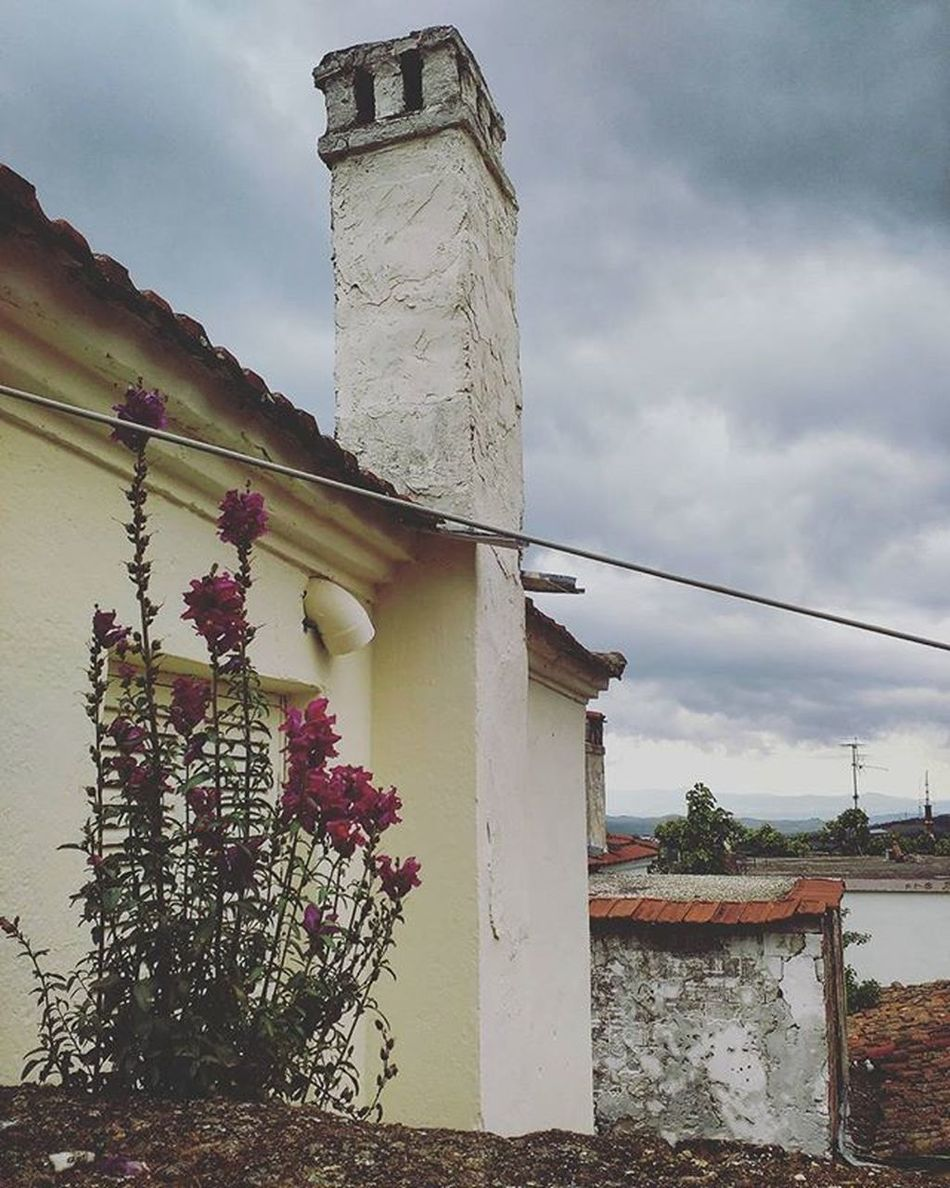 3rd of May Catherine_d_milosevich_photography Springflowers Momentswiththecamera Beforetherain Cloudyday Villagehouses Sohos Greecestagram Greecelover_gr