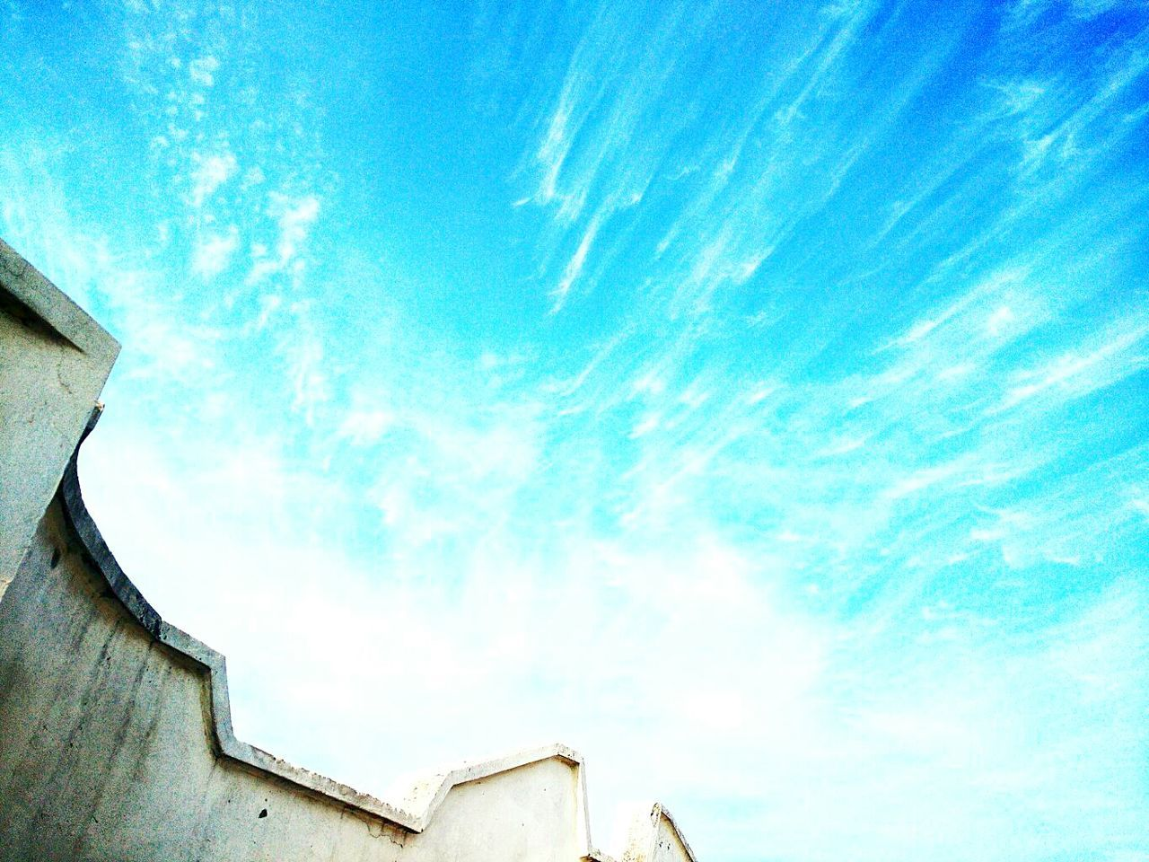 low angle view, architecture, built structure, building exterior, sky, no people, outdoors, cloud - sky, day, roof, nature
