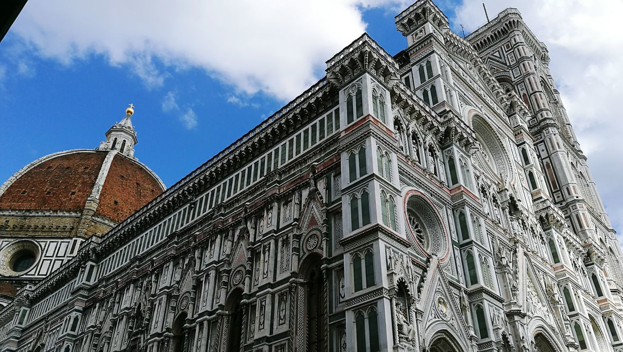 S. Maria Del Fiore Florence Italy Details Beatyful Architecture