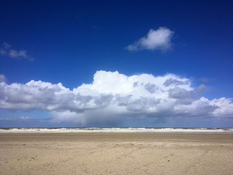 Thankfully I'm in the sun and no strong weather in my life at the moment. Clouds And Sky A Day At The Beach Sun Sea Sea And Sky Sand Dramatic Sky Rain Beach Strand Zee Zand Regenwolken Kijkduin Holland❤ Den Haag IPhoneography
