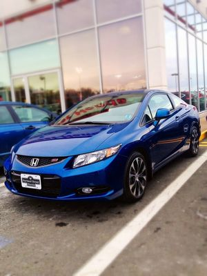 Picking up a new car at Portland Street Honda by Garett Mosher