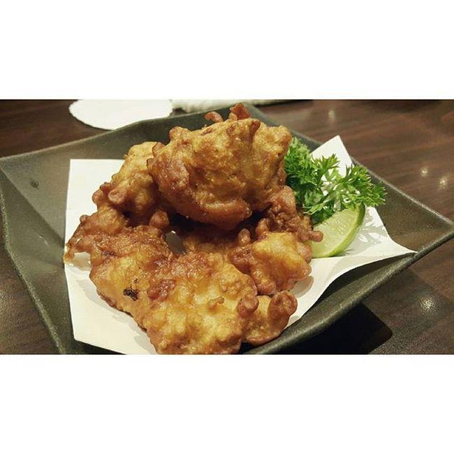 Fried Chicken ไก่ทอด フライドチキン Satonoudon Mercuryville Chitlom Japanesefood udonnoodles