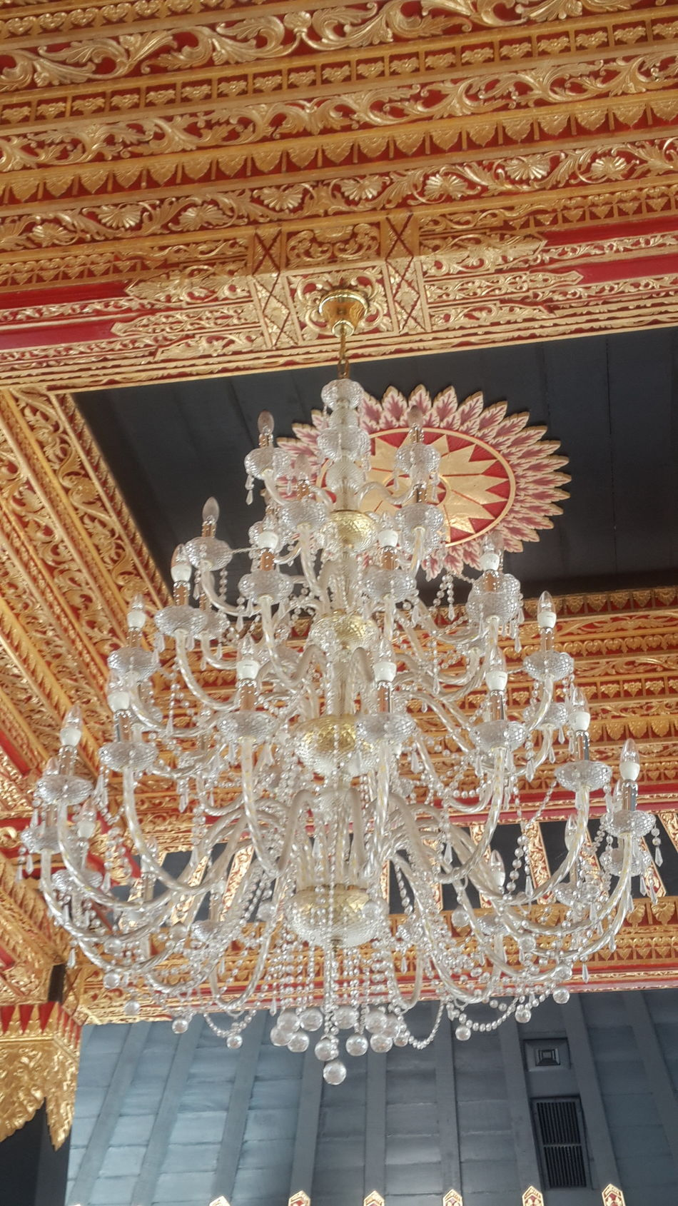Still at Keraton Yogyakarta, Central Java Indonesia Amazing Indonesia Castle Chandelier