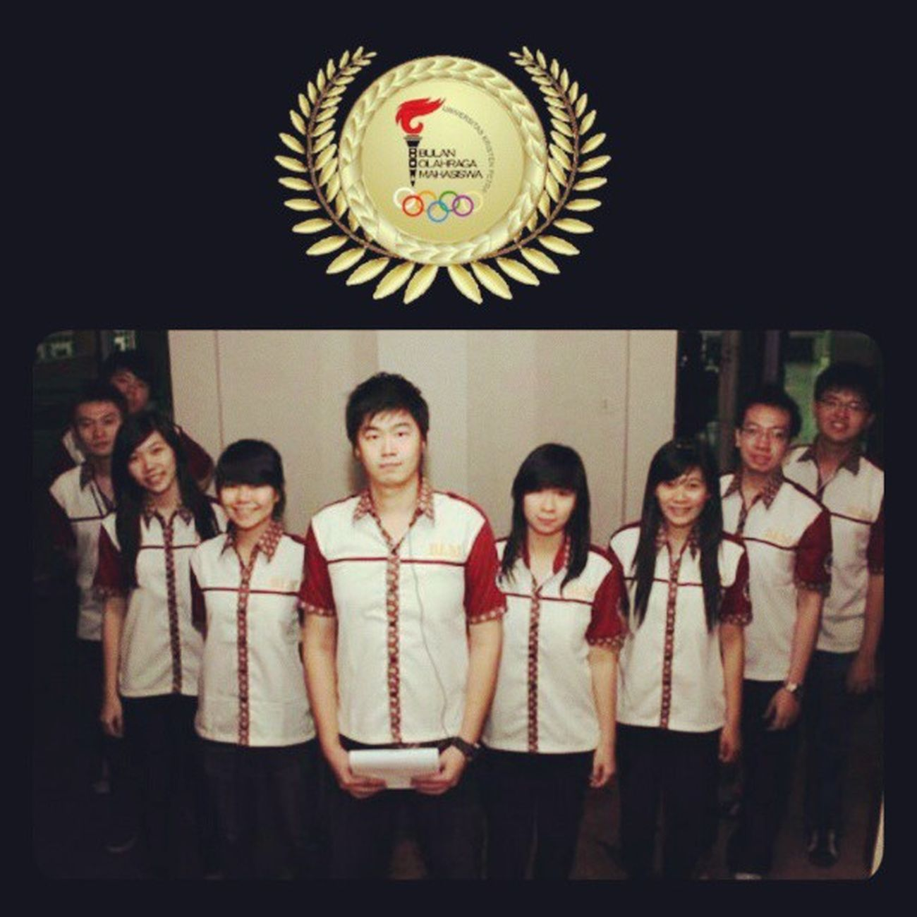 always remember this team! BOM2012 Memory Bempeople UKP love hug friends awesome teamwork family famous
