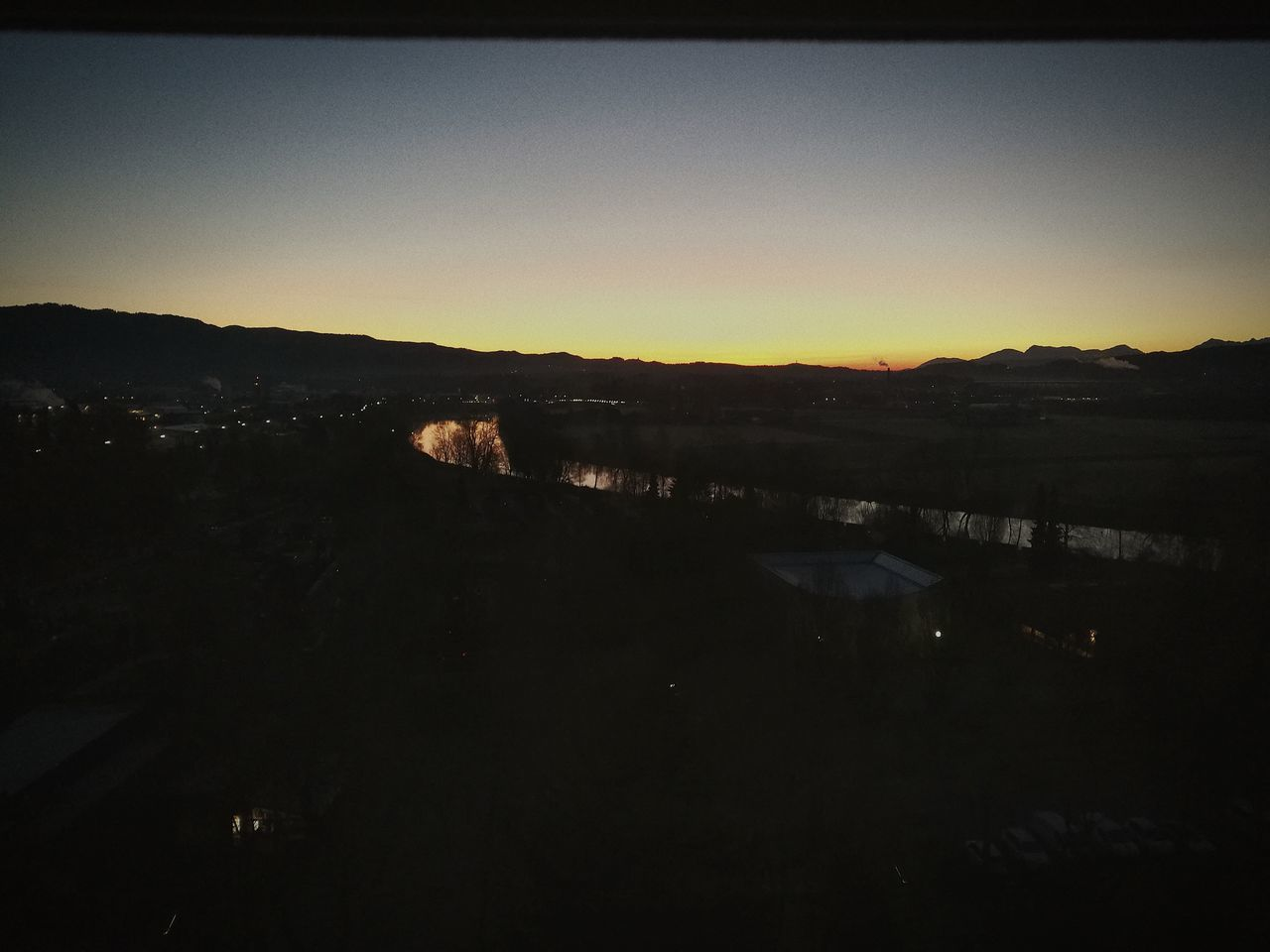 Sonnenaufgang über Villach 🌄☀ Sky Nature Lake Mountain Kärnten / Österreich Villach Beauty In Nature EyeEmNewHere