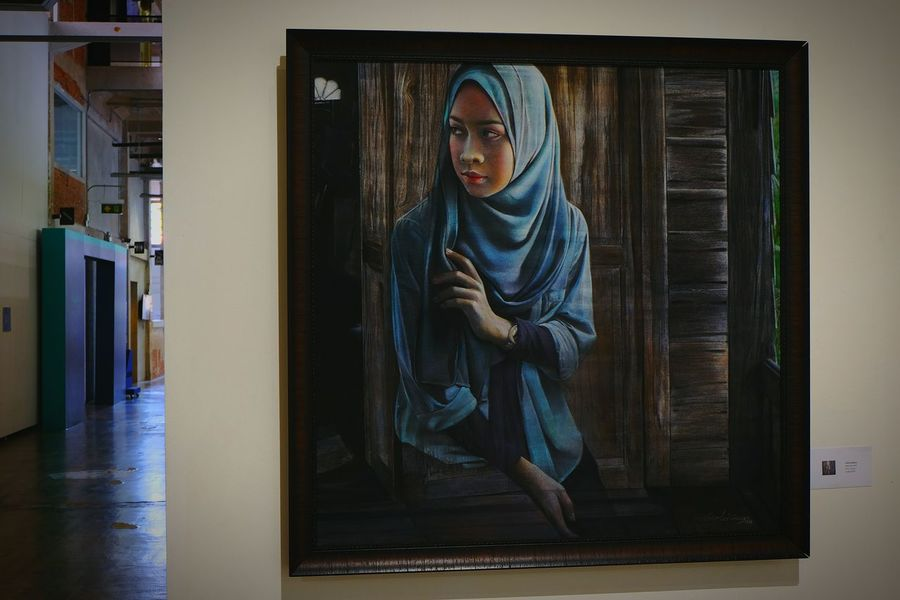 "Wind & Mind/Artist: Apiruk Potituppa @Ratchadamnoen Contemporary Art Center นิทรรศการ ""7 ปี ครุศิลปะ บันทึกบนทางศิลป์ "" Art Gallery Artistic Expression Arts Culture And Entertainment Art, Drawing, Creativity"