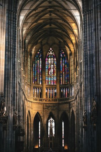 The Week On EyeEm Canon Photooftheday Prague Canonphotography Architecture No People Architecture Place Of Worship Arch Day Travel Destinations Church