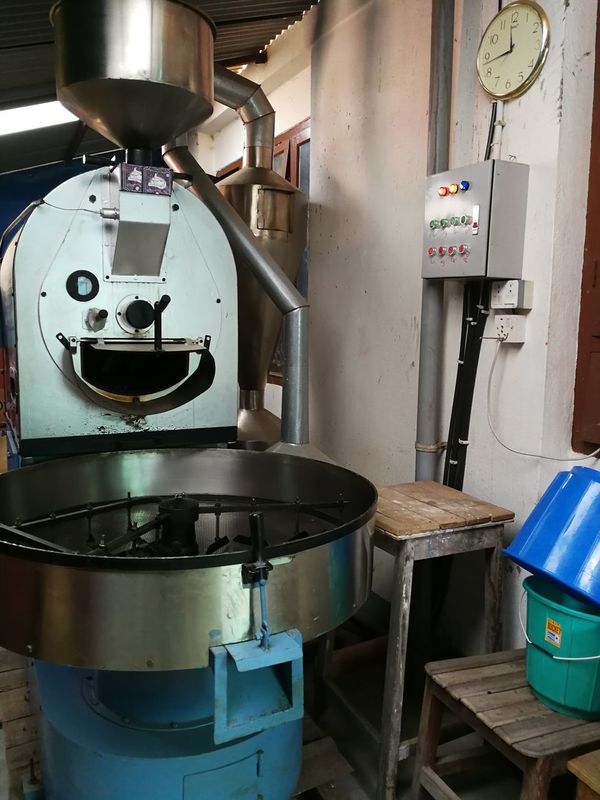 Freshness Business Finance And Industry No People Indoors  Day Factory Coffee Roasting Coffee Roasting House Machine