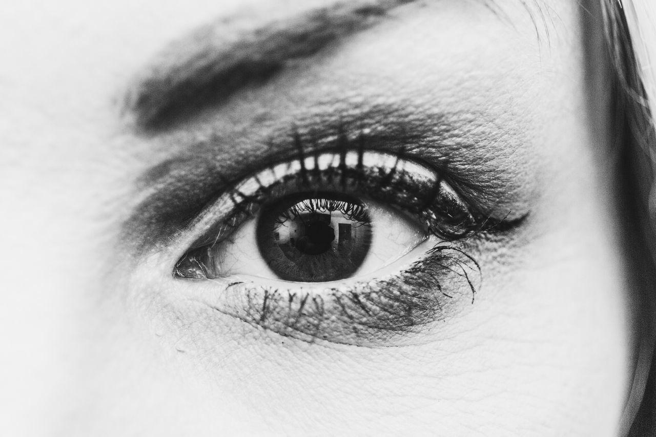 Eyes Eye Details Blackandwhite See Look Iris Iseeyou