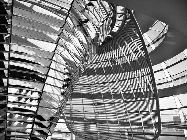 Architectural Feature Architecture Building Built Structure City Day Modern Spiral