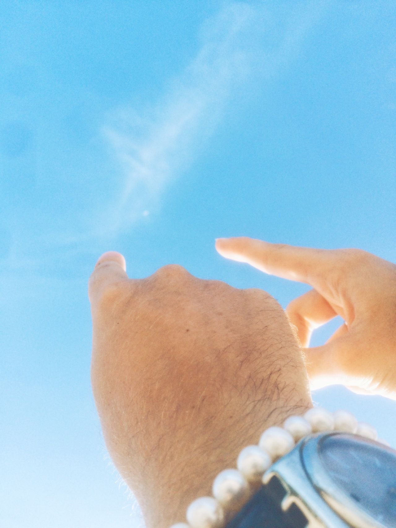 Tothemoon Moon Moonatday Sky Hands Couple Pearls Watch Abstract Dream Thailand Thai