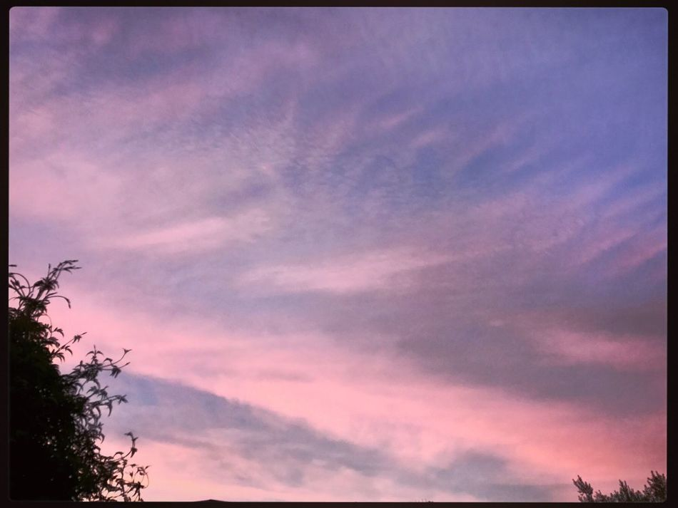 Beautiful Morning Skies 💜 GoodMorningWorld ☀️💛☀️