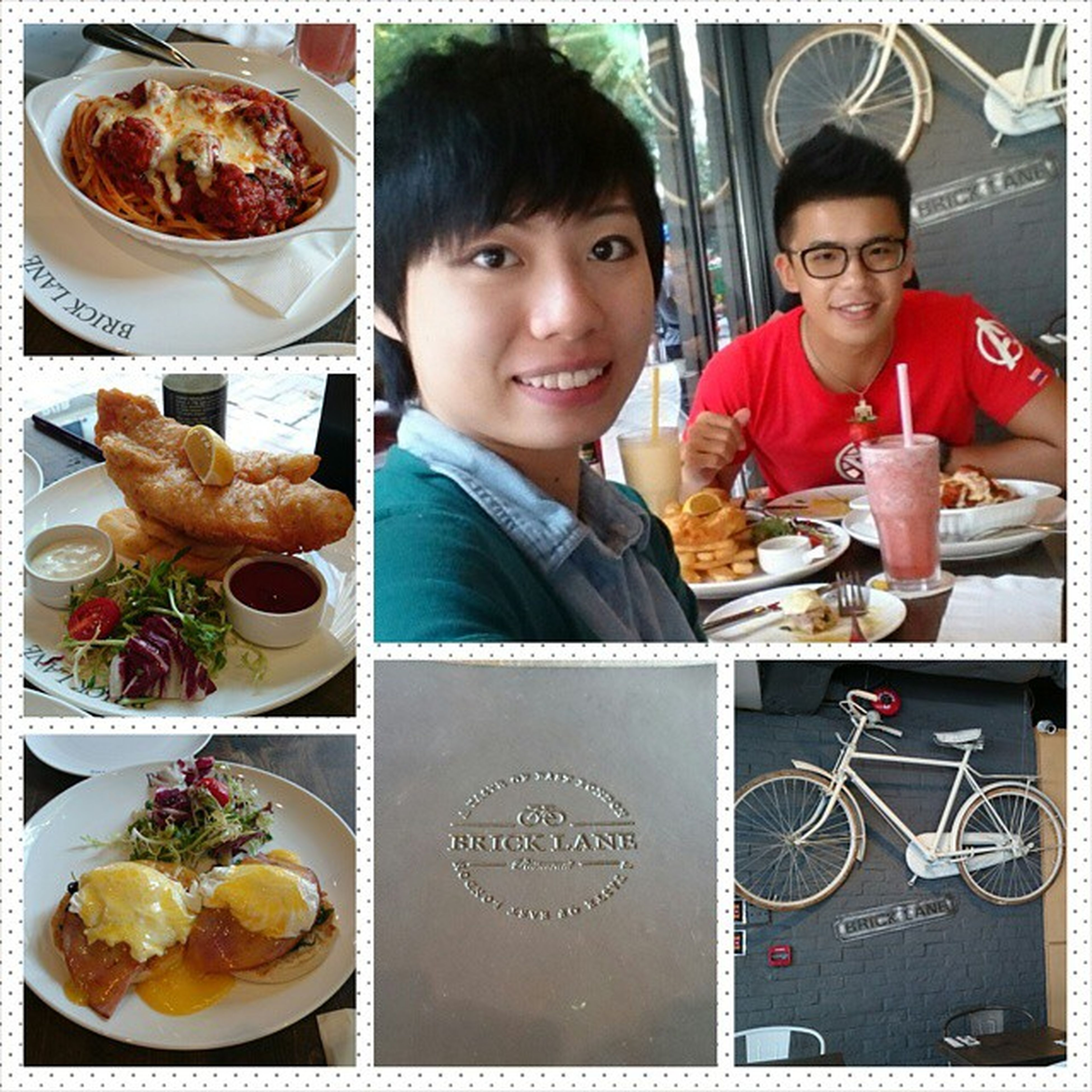 Having a nice lunch with Yen! Bricklane Nice Weather Nice_lunch Mimisphotography mimis_favourite