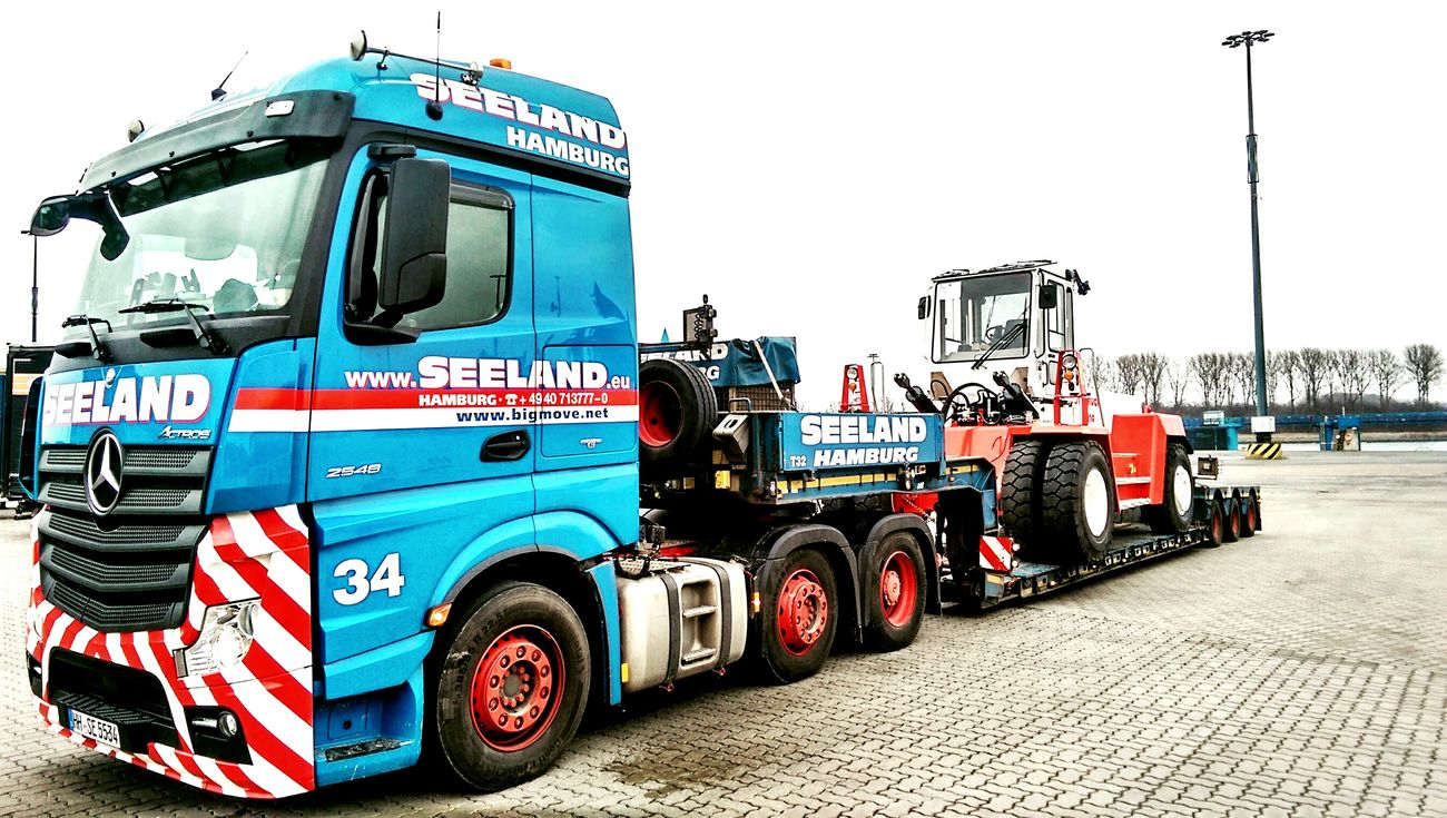Schwertransport Actros Heavy Transport My Work Check This Out