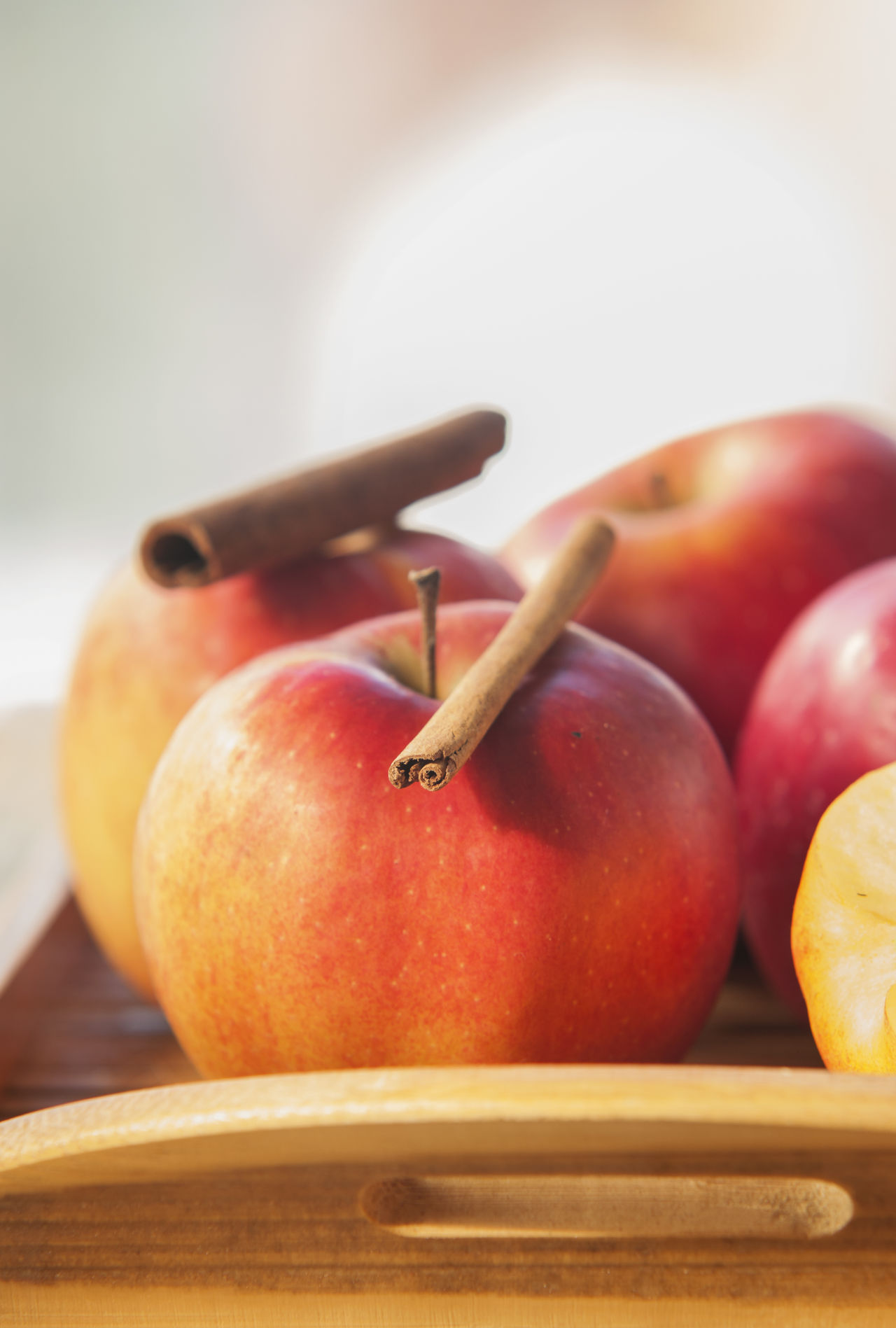 Beautiful stock photos of healthy eating, Apple - Fruit, Cinnamon, Food, Food And Drink