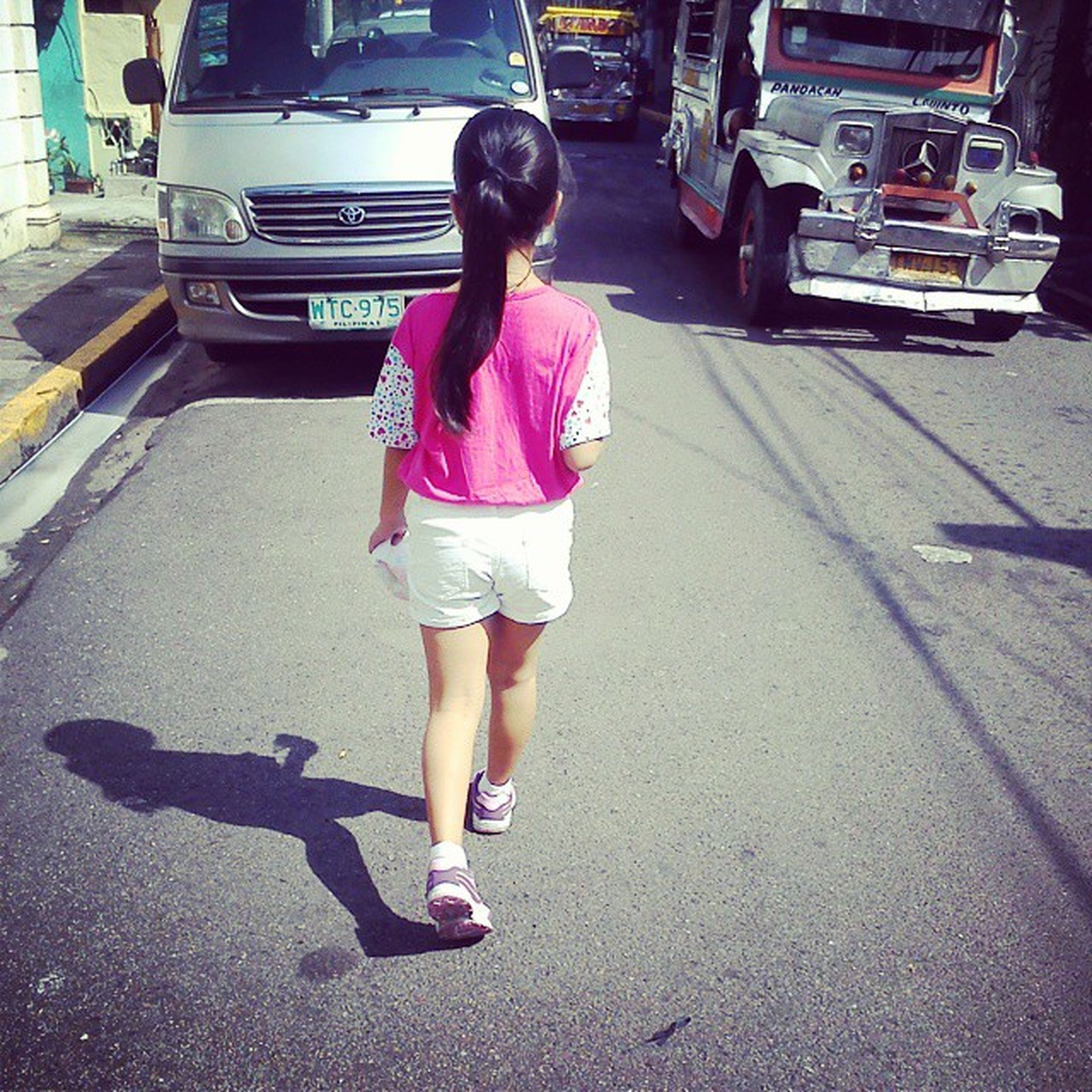 Off to Quiapo church with my baby cousin! ^_^ Sunday Chloie