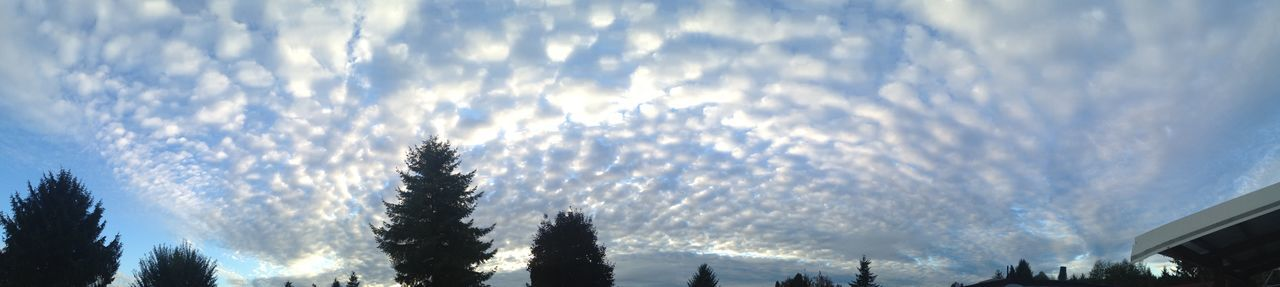 Astoria, Oregon IPhone IPhoneography View From The Trailerpark Sunset Panorama Skyporn Cloudporn Clouds And Sky View From The Trailerpark