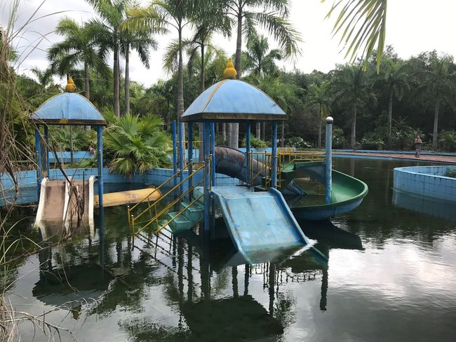 Vietnam Water Park Abandoned Water Park Explore Exploring Adventure Unique Solo Traveler Water