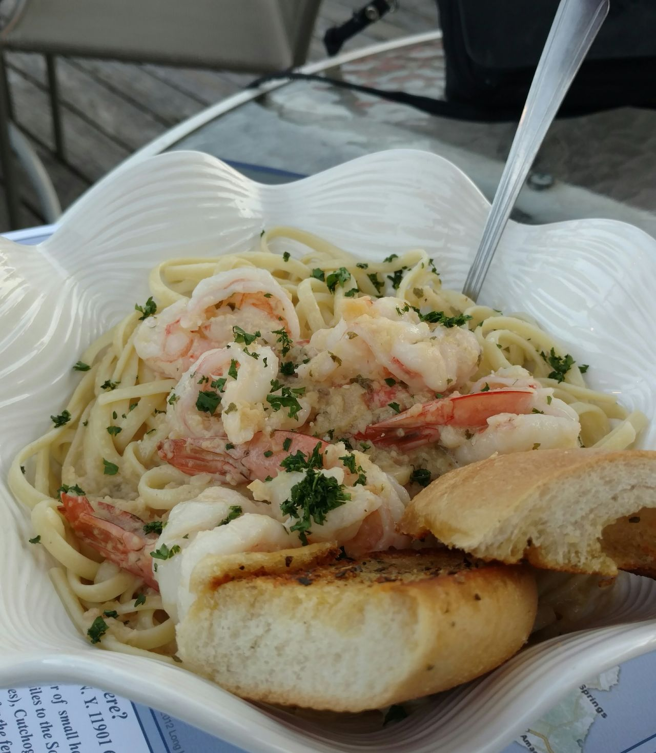 SEAFOOD🐡 Seafoods Pasta And Shrimp Pasta Dinner Eating Out