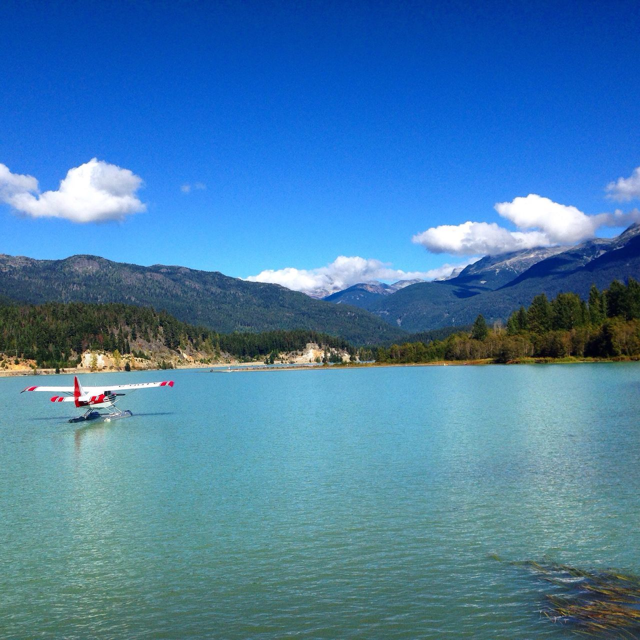 German Photographer Travel Photography Canada Britishcolumbia Whistler Traveling Lake View Blue Sky Clouds Waterplane Summer Kanada Reisen See Wasserflugzeug Leben Genießen Enjoying Life Blue Wave The Great Outdoors With Adobe The Great Outdoors - 2016 EyeEm Awards