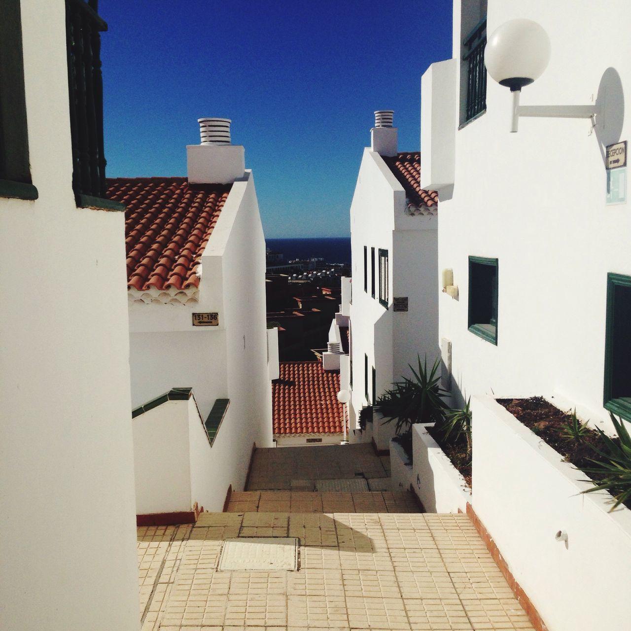 Santa Cruz De Tenerife Whitewalls  Blue Sky Ombre Distance Lostplaces Sun Love Beautiful