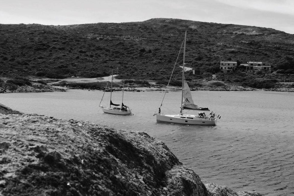 Calvi La Corse 2B Paysages Mer Nature NikonD3100 Noir Et Blanc