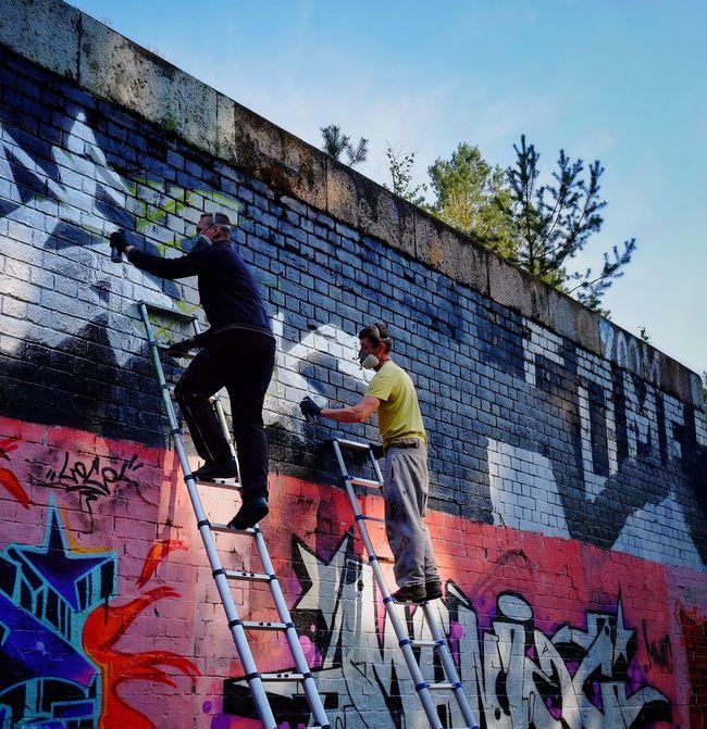 Make Art Not War Graffiti Streetart FUJIFILM X-T1
