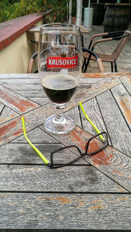 Czech Beer Krusovice Black Beer Time For Rest Také Off The Glasses Will Slap Beer World
