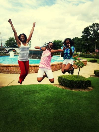 Yesterday 4th Of July We Crazy Jumping