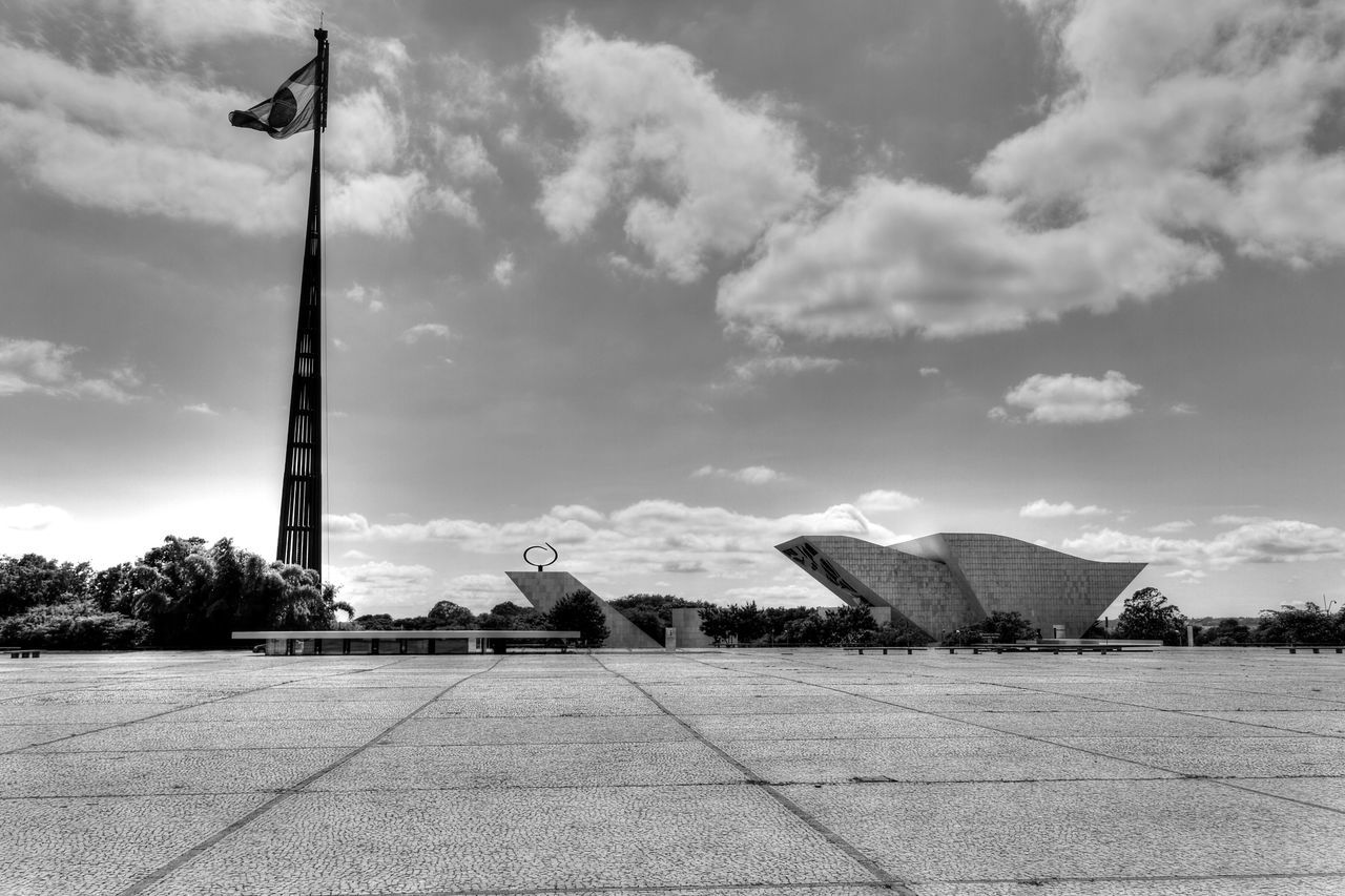 Brasilia city-Brazil Landscape_Collection Oscar Niemeyer Street Photography Black And White Architecture_collectionBlack&white Buildings Monochrome Brasília - Brazil Brazil - Brasília - DF