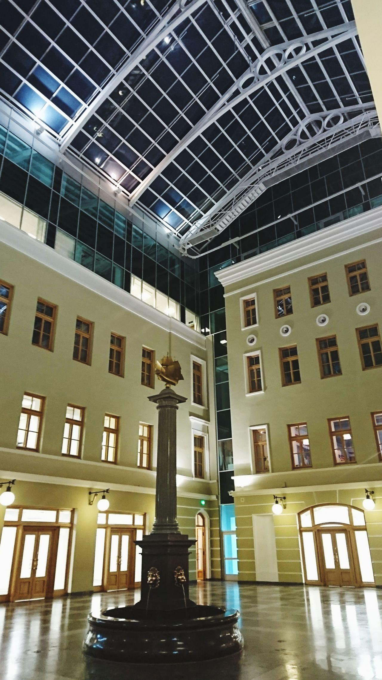 с другой стороны Building Exterior Indoors  Outdoors Night Fontain Saint Petersburg Nevsky Prospect по ту сторону