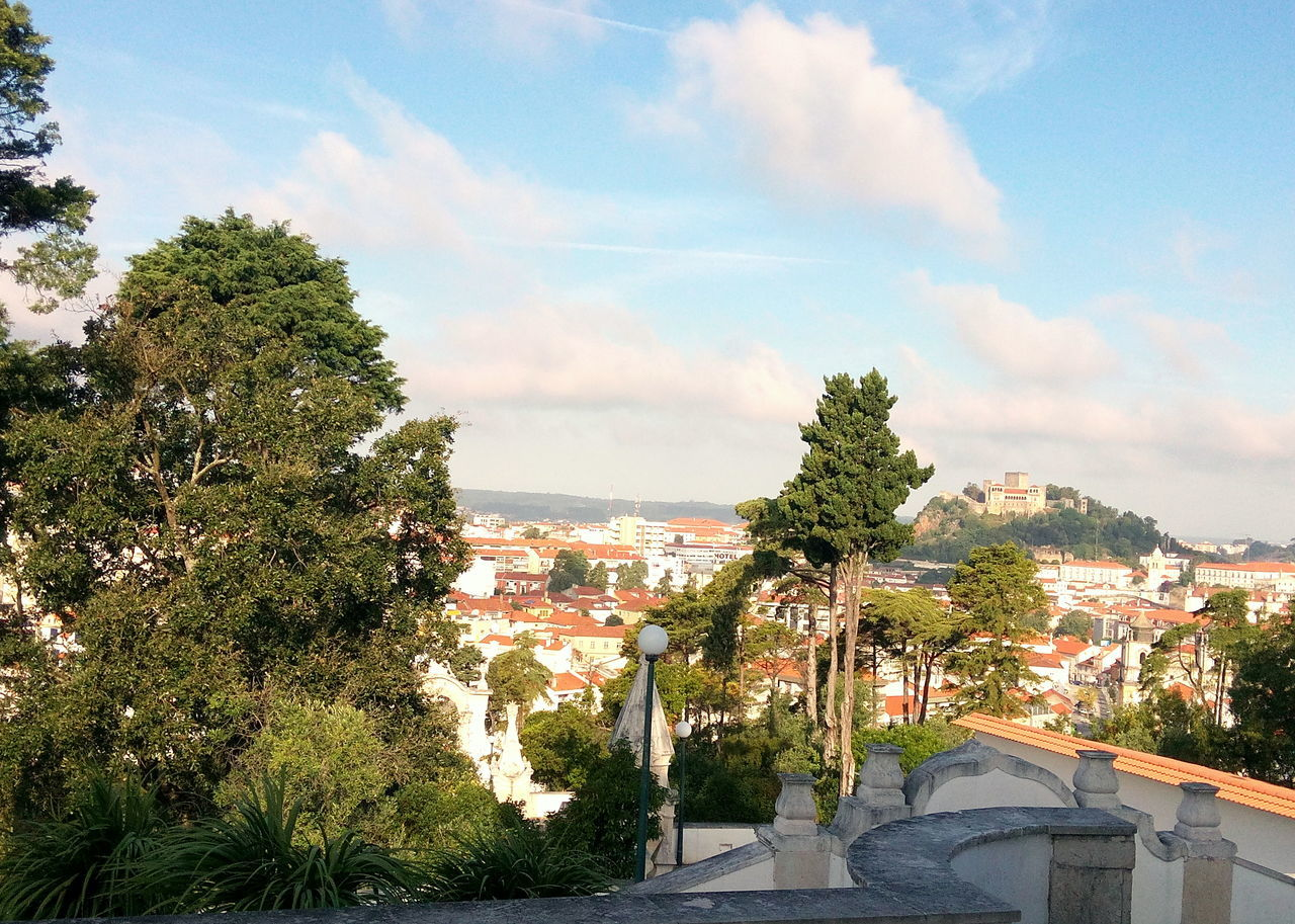 On top of the world Adapted To The City Amazing Architecture Buildings Castle Church Cityscape Clouds Construction High Human Landscape Leiria Mountain No People Old Outdoors Sky Stairs Sun Top Of The World Trees View Winter