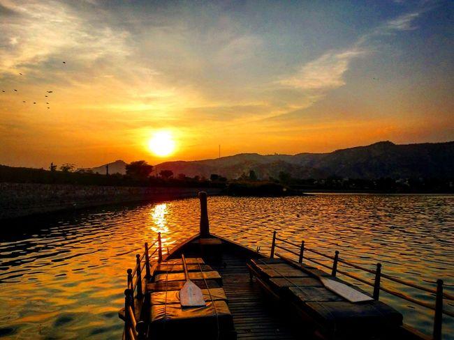 Lake Mansagar Jaipur Rajasthan Jal Mahal Palace Boating Lake Taking Photos Hanging Out With My Love