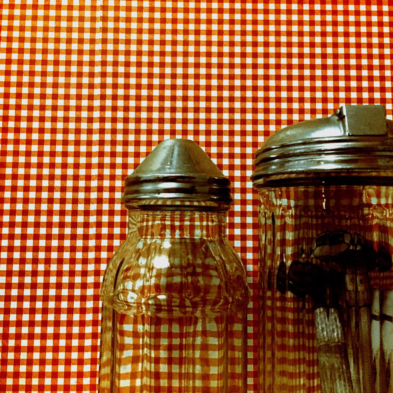 Variation Pattern Choice Indoors  Tablecloth Jars  Bathroom Country Style Country Life