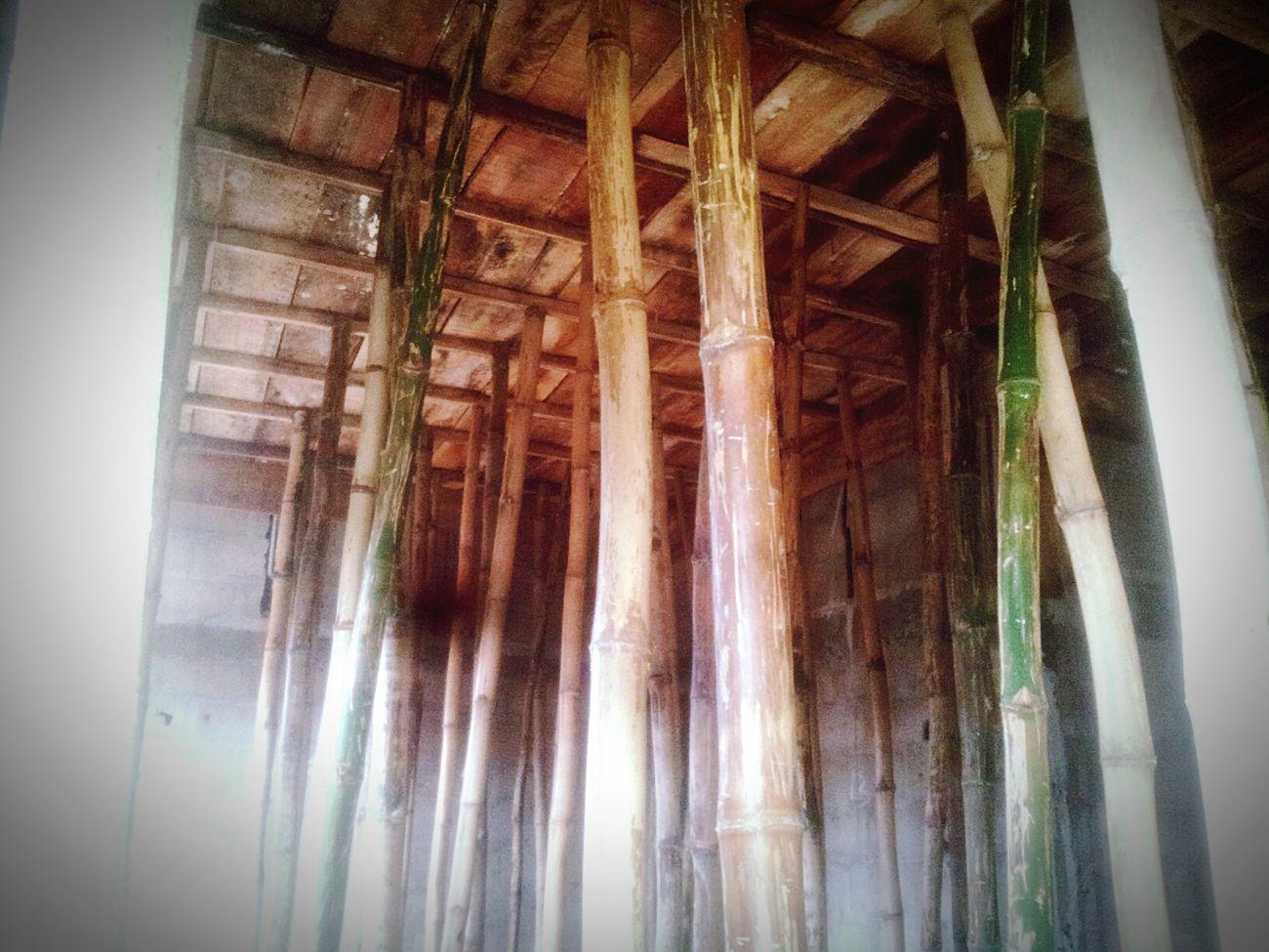 Under deck at Agip Estate