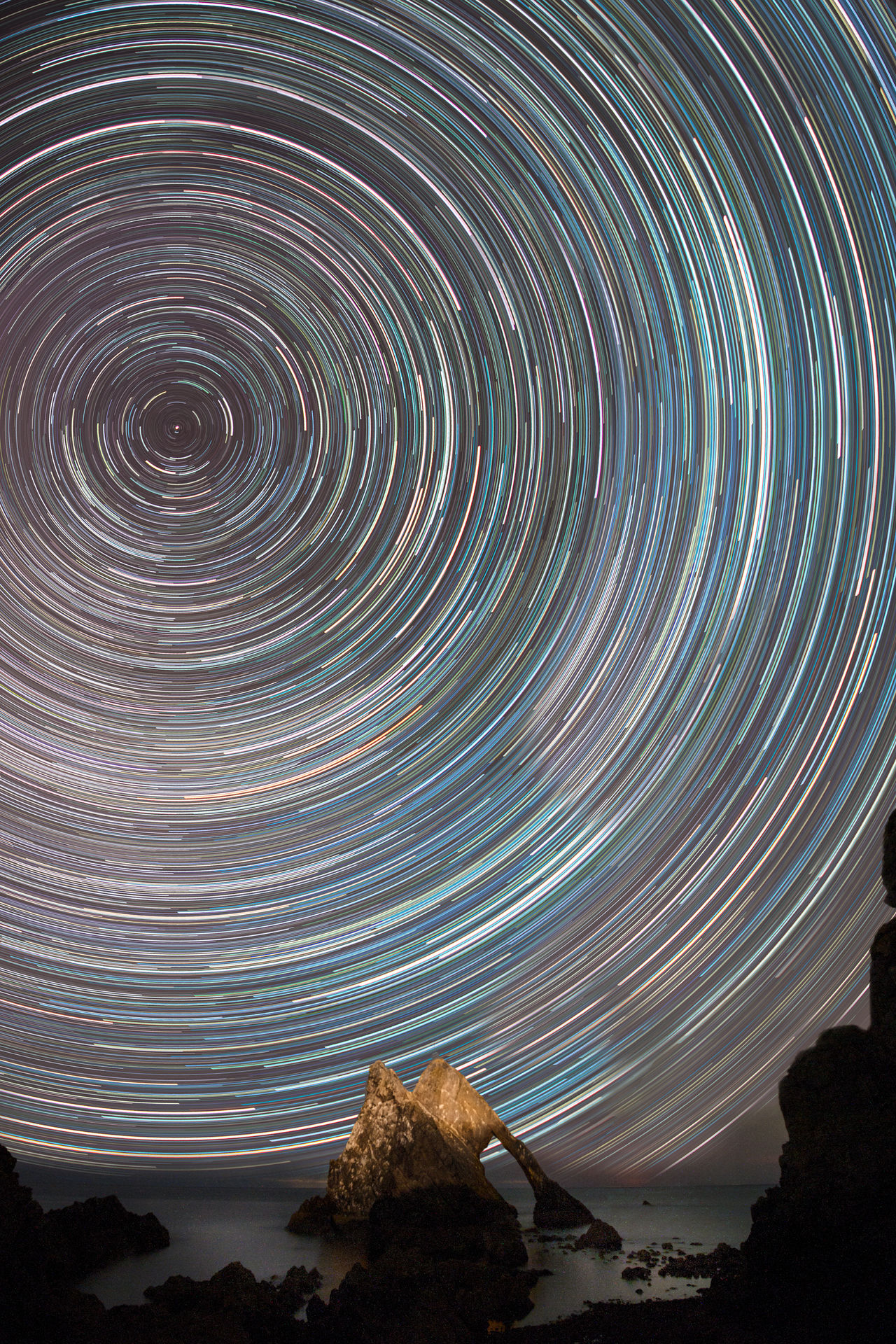 Beautiful stock photos of galaxy,  Astronomy,  Beauty In Nature,  Bow Fiddle Rock,  Circle