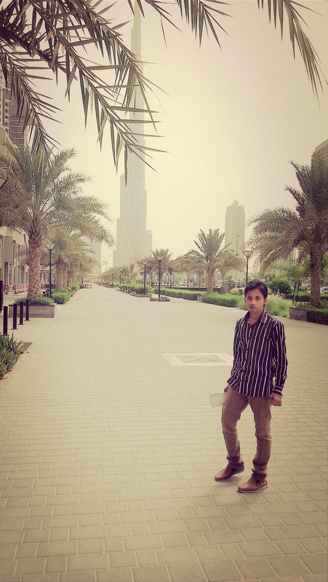 Hey✌ I'm in businessbay Burjkalifa street Check This Out I Miss You ❤