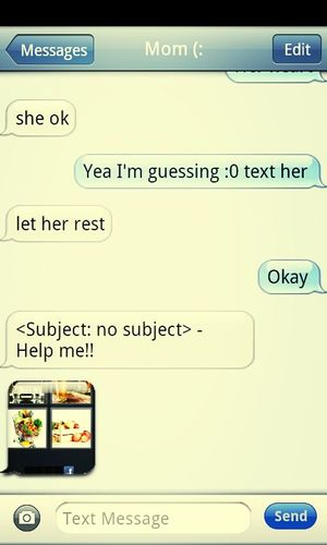 My mom be asking for help on 4 pics and 1 word while I'm in class -.-