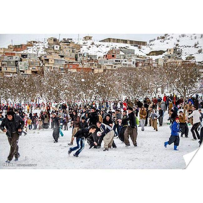 چرا…مریوان را باید دید ?! چون هر سال زمستان جشنواره زمستانی آدم برفی در مریوان برگذار میشود… Mustseeiran Mustseekurdestan