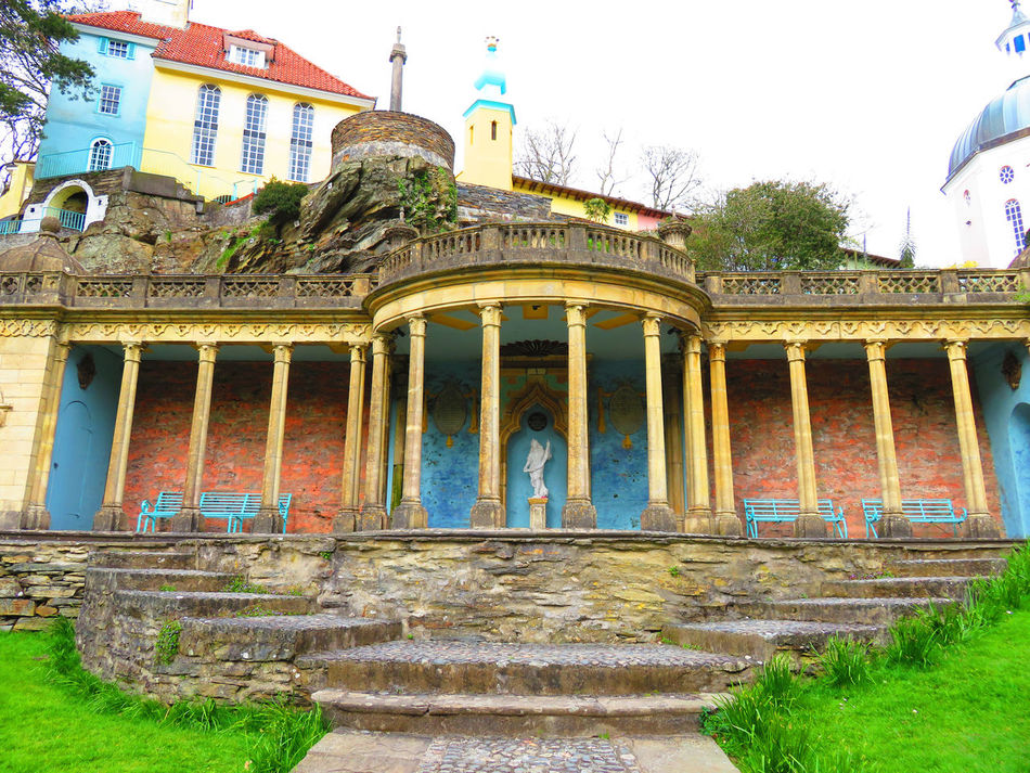 Portmerion Wales UK Portmeiron Village Portmeirion Wales Wales❤ Wales You Beauty The Prisoner Tourist Attraction  EyeEm Best Shots - Architecture Italian Architecture