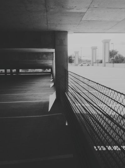 Two sides near underground Vanishing Point Taking Photos Mobile Photography IPod Touch