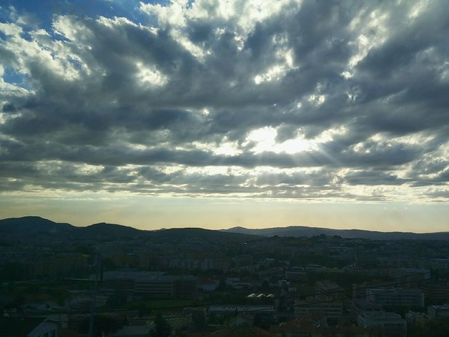 Cloud - Sky Landscape Sunset Nature Sky Travel Destinations Built Structure Outdoors Architecture City Scenics Cityscape Day Outdoor Beauty Outside Photography Outdoor Photography Portugal OnePlusOne📱 Oneplus One Oneplusonephotography Onepluslife Shotononeplus Building Exterior Beauty In Nature