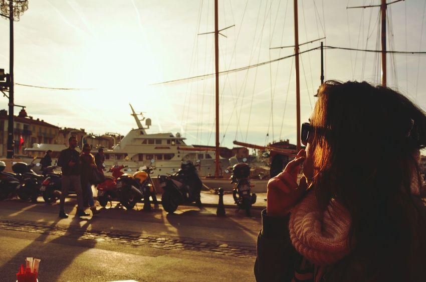 City Adults Only People Adult Outdoors Large Group Of People Sky Young Adult Day Saint Tropez Smoking Smoke GirlSmoke Girl Smoking
