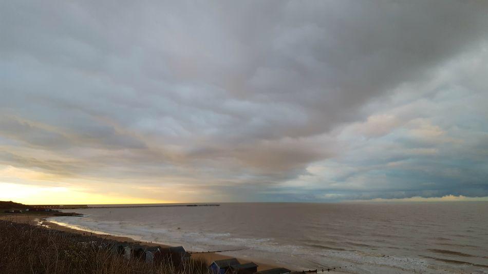 Frinton-on-Sea Frinton On Sea Frinton Walton On The Naze Horizon Over Water Dramatic Sky