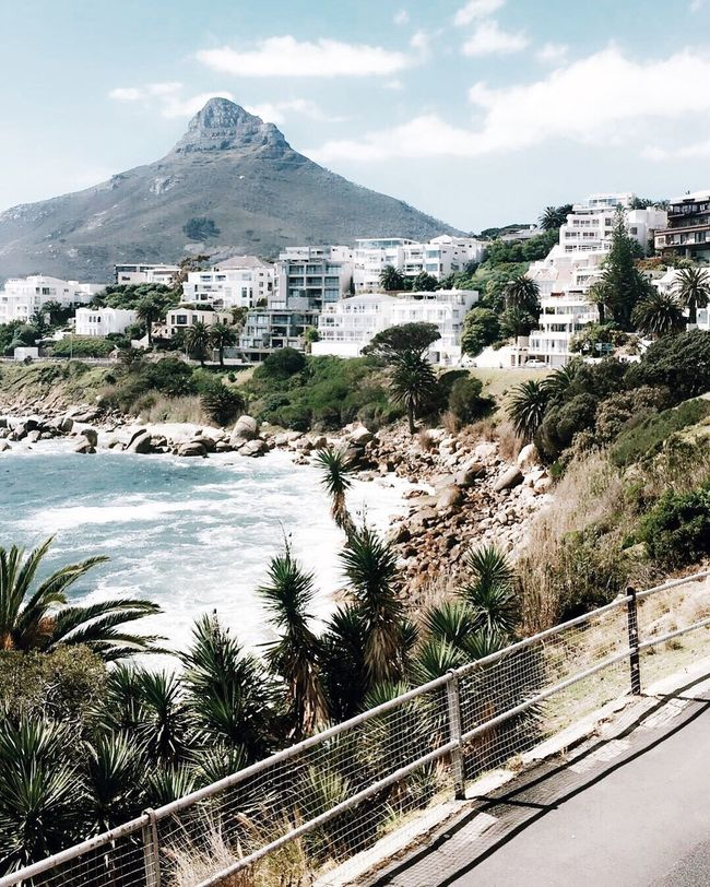 lions head. Mountain Sea Outdoors Water Mountain Range Built Structure Tree Nature Beauty In Nature Architecture Sky Scenics Mountain Peak Day Shore Ocean Beach South Africa