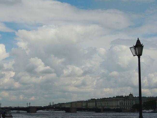 Neva River Rainy Days Magic Place ☀️ Bridge Palace Sankt-peterburg Russia