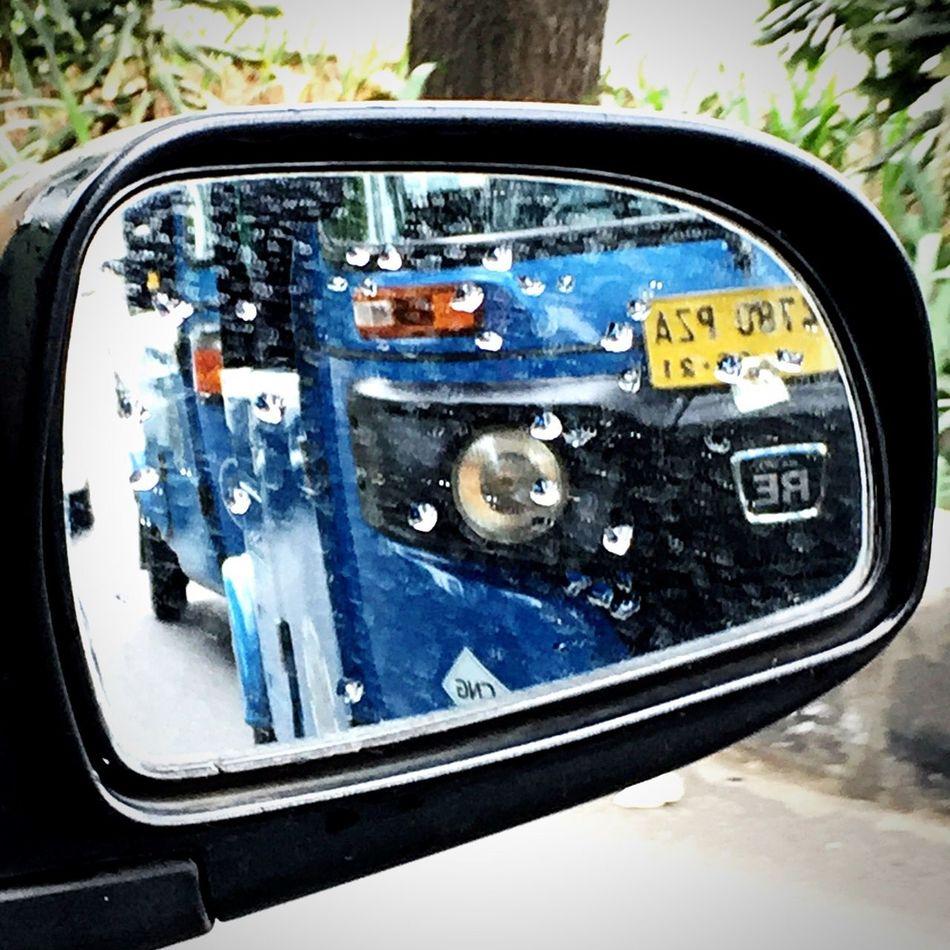 Transportation Land Vehicle Bajaj Vehicle Mirror Outdoors Side-view Mirror Reflection