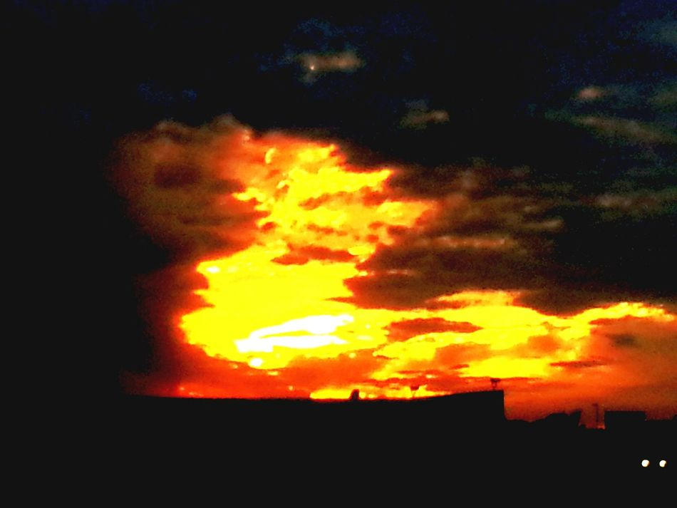 Last night Sunset Nature Sky No People Beauty In Nature Outdoors Cloud - Sky Day Sun Original Nature Journey Guidance Hello My Name Is Relaxation Death Haunted Wisconsin Sign Name Meanings