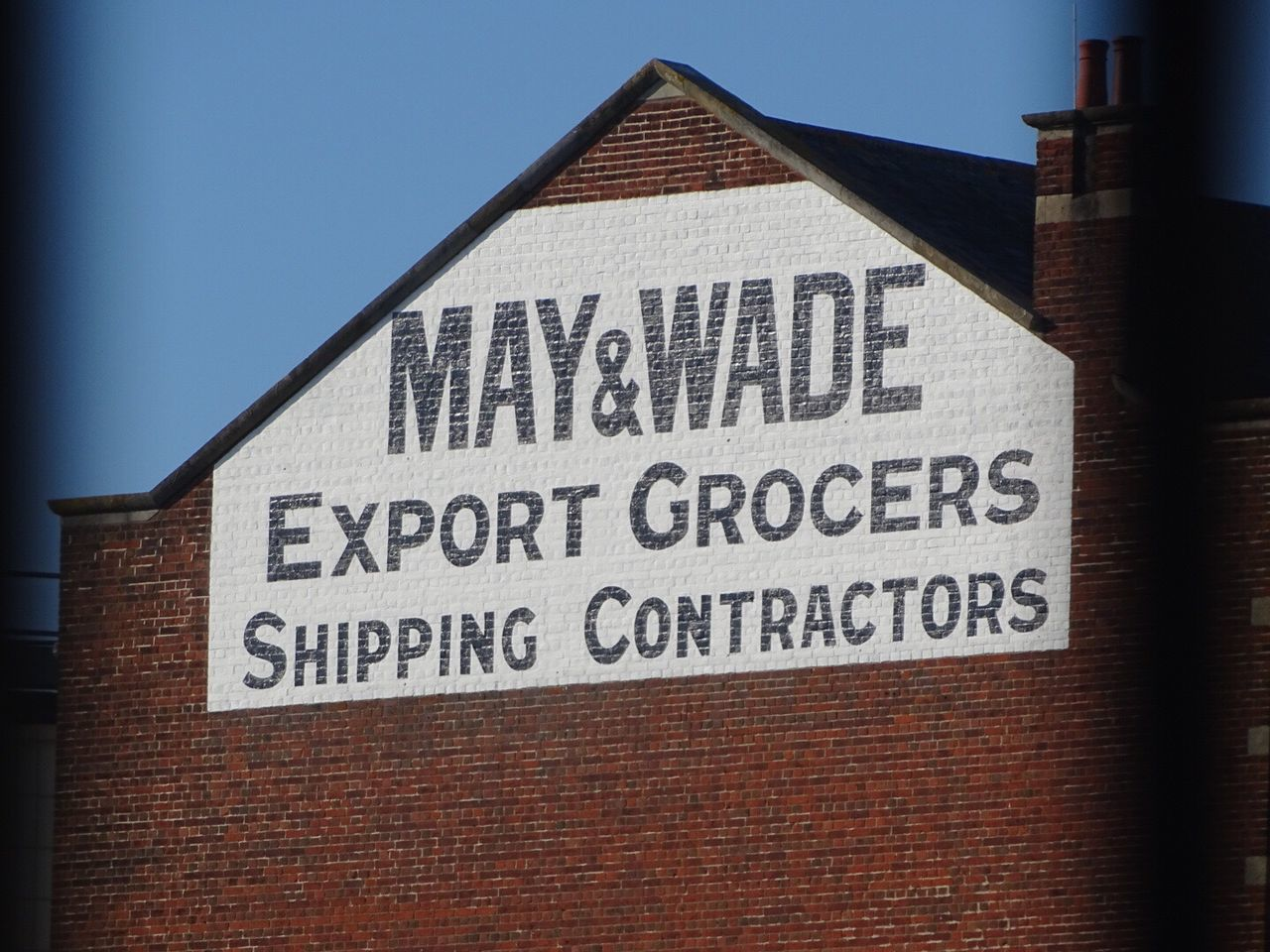 Building Exterior Architecture Southampton Southampton Docks Grocer Export Sign Painted Brick Sony HX400v First Eyeem Photo