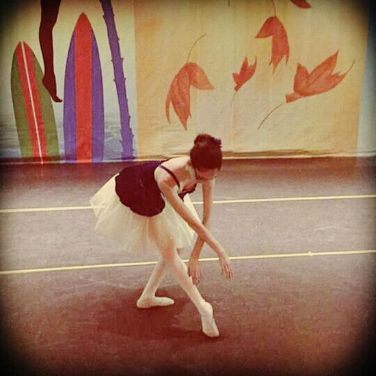 My Beautiful Niece  Ballet Dancer Graceful Pretty Girl Taking Photos Enjoyment Shes Adorable